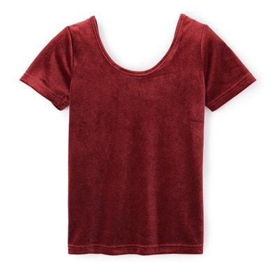 T-shirt met ronde hals en korte mouwen T-shirt met ronde hals en korte mouwen LA REDOUTE COLLECTIONS