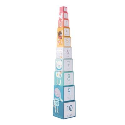 Les Jolis Trop Beaux Stacking Cubes Les Jolis Trop Beaux Stacking Cubes MOULIN ROTY