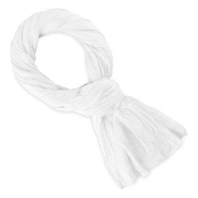 ... Chèche coton blanc uni ALLEE DU FOULARD. ALLEE DU FOULARD 48a13869061