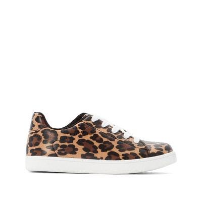 Basket fille leopard | La Redoute