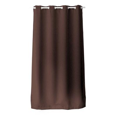rideaux occultants marron chocolat la redoute. Black Bedroom Furniture Sets. Home Design Ideas