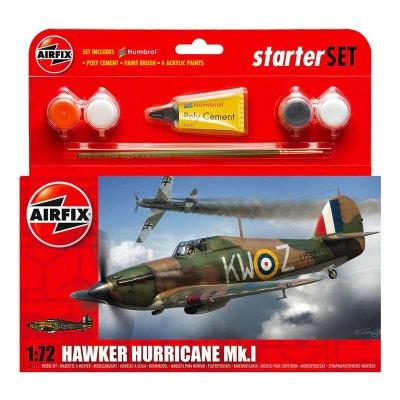 3ad383ebc7 Maquette avion   Starter Set   Hawker Hurricane MkI Maquette avion    Starter Set   Hawker