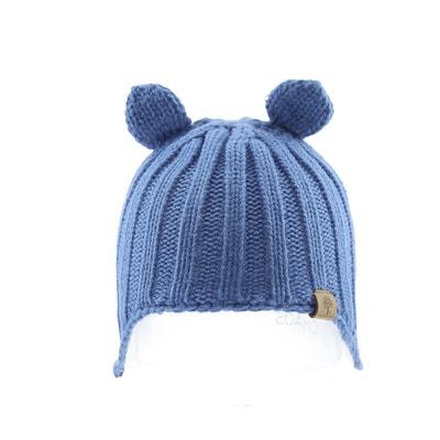 befe43505f5 Bonnet laine tricot oreilles avec pompons doublure polaire Bedford Road  Bonnet laine tricot oreilles avec pompons. BABY PARTNERS