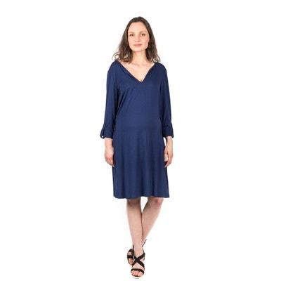 46398e1c10c82 Robe de grossesse manches longues Sarah 1 ET 1 FONT 3