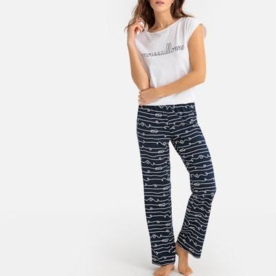8c8806b93 Pijama em puro algodão Pijama em puro algodão LA REDOUTE COLLECTIONS