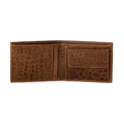 Portefeuille pour homme avec Porte-monnaie en Cuir souple Italien Style  classique avec fentes pour fab6ae8a664