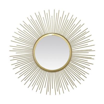 07d4b03420efda Miroir soleil Pic doré 50cm Miroir soleil Pic doré 50cm EMDE PREMIUM