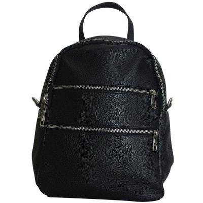482cd61206 Sac a dos cuir noir CHAPEAU-TENDANCE