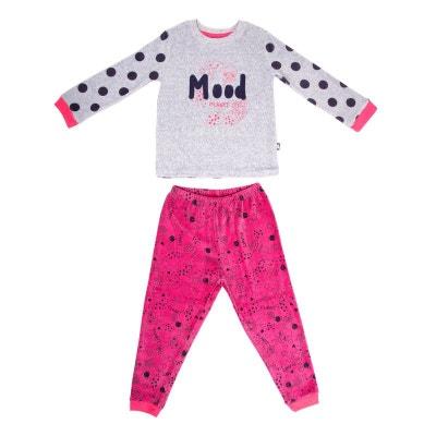 f47d03551865b Pyjama fille manches longues Mood Pyjama fille manches longues Mood PETIT  BEGUIN