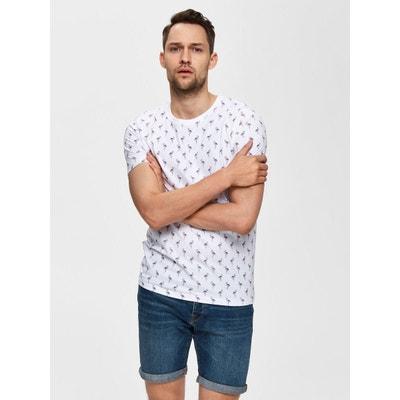 c5fe96dcace T-Shirt Coton biologique - T-Shirt Coton biologique - SELECTED HOMME