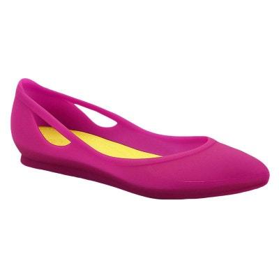 bc6aeec9fb6 Crocs Rio Flat Sandale Femme CROCS