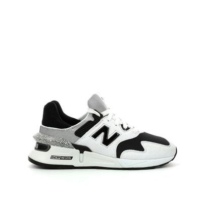 2e large noir blanc bleu royal new balance 608 chaussures