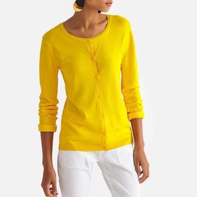5e1f12e4eae6 Gilet jaune femme