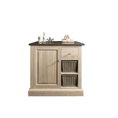 Meuble salle de bain simple vasque | La Redoute