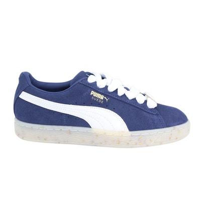 basket puma femmes bleu