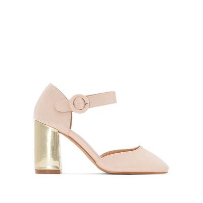 5e4f10c86 Sapatos com tacão metálico LA REDOUTE COLLECTIONS