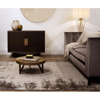 Tapis salon marron chocolat | La Redoute