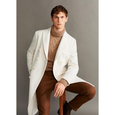 performance sportswear best shoes various colors Manteau long blanc homme | La Redoute