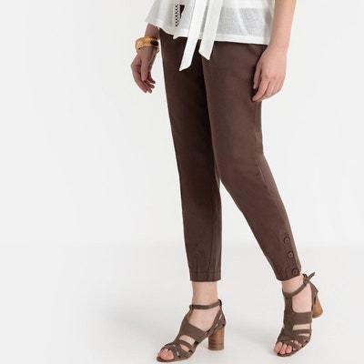 bb5168bdfa00e Pantalon slim, sergé stretch Pantalon slim, sergé stretch ANNE WEYBURN