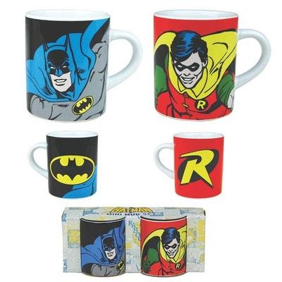 Tasses à Expresso Batman et Robin Tasses à Expresso Batman et Robin KAS  DESIGN c237cd84a56