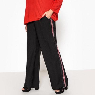 f70c9917da0 Side Striped Wide Leg Trousers