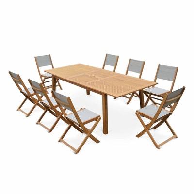 Table en bois eucalyptus | La Redoute
