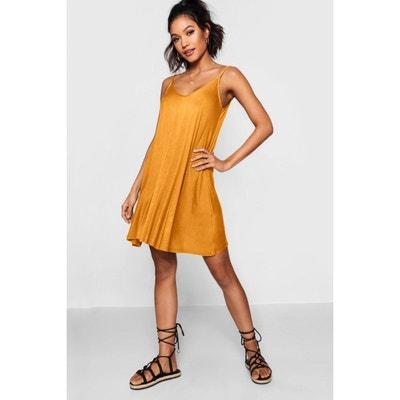 8051e0834cb Robe jaune moutarde