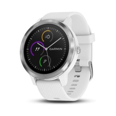 Montre sport GPS Vivoactive 3 silver blanc Montre sport GPS Vivoactive 3  silver blanc 2c376787bd8