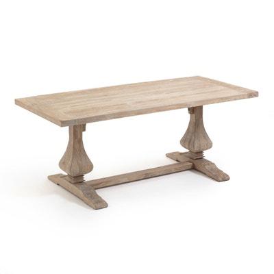 Rechthoekige tafel in massief olm Lorette Rechthoekige tafel in massief olm Lorette AM.PM