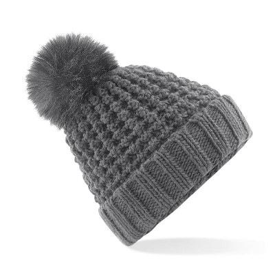 82c13855b90 Bonnet à pompon imitation fourrure POPCORN BEECHFIELD