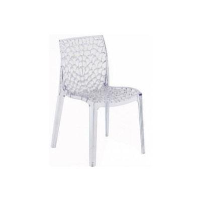 0fab945e026d6 Chaise Design Transparente FILET DECLIKDECO