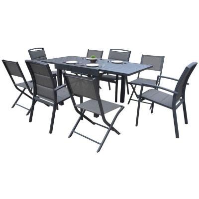 Ensemble table, chaise de jardin WILSA | La Redoute