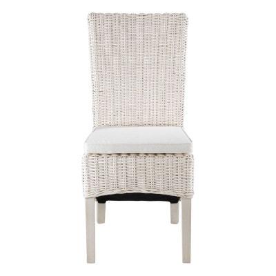 2 X Chaise En Demi Kubu Blanc INWOOD