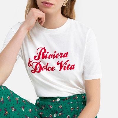 t-shirt femme la redoute