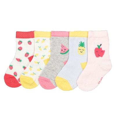 847e1611f3d Lot de 5 paires de chaussettes