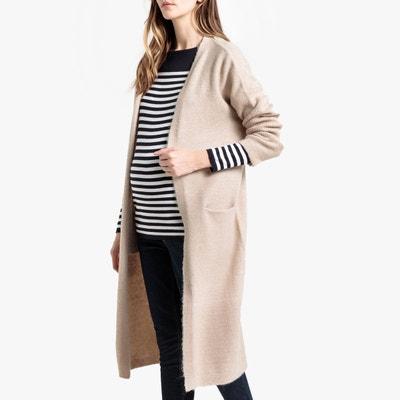 france pas cher vente magasins populaires style moderne Gilet long femme beige | La Redoute