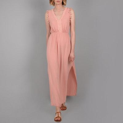 e289a2b62cc Платье длинное без рукавов с помпоном и кружевом Платье длинное без рукавов  с помпоном и кружевом. Финальная цена