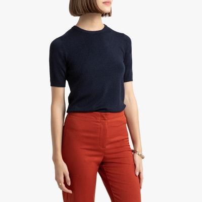 Basic trui met korte mouwen Basic trui met korte mouwen LA REDOUTE COLLECTIONS