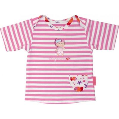 f99ea744c9 Emma transat Tshirt top maillot anti UV manches courtes MAYOPARASOL