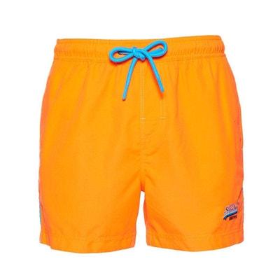Short orange fluo homme  1c68ccc5366