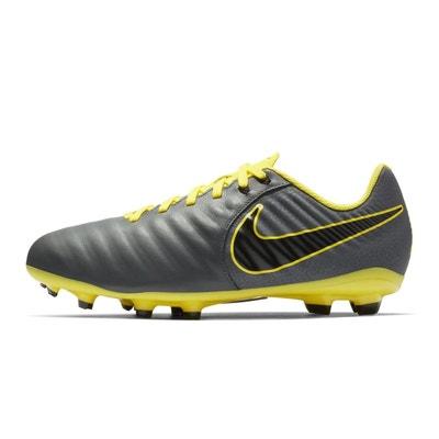 quality design a6880 0a6b1 Chaussures football Nike Tiempo Legend VII Academy MG GrisJaune Junior  Chaussures football Nike Tiempo