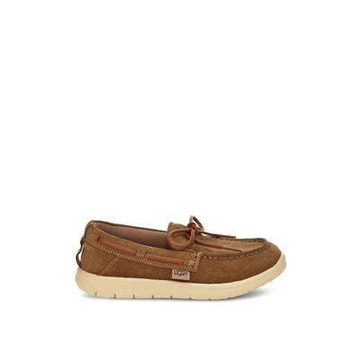 e66c29af784 Chaussures bateau cuir Beach Moc UGG