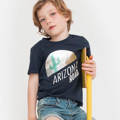 a7b8b3d811d1a T-shirt à sequins magiques 5-12 ans T-shirt à sequins magiques