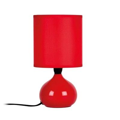 lampe rouge la redoute. Black Bedroom Furniture Sets. Home Design Ideas