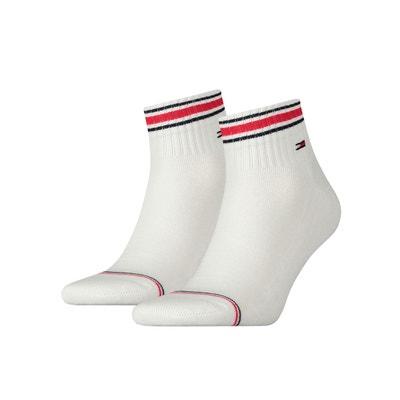 4e3a08fb09ab7 Lot de 2 paires de mi-chaussettes tennis TOMMY HILFIGER