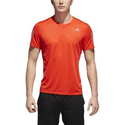 6ea5f6baab6 T-shirt met ronde hals en korte mouwen, Climacool T-shirt met ronde