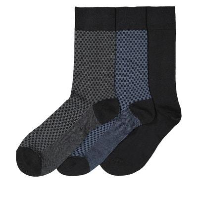 af1055db00c Lot de 3 paires de chaussettes Lot de 3 paires de chaussettes LA REDOUTE  COLLECTIONS