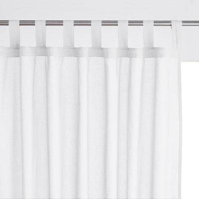 31ea1b50010 Visillos con trabillas 100% algodón SCENARIO LA REDOUTE INTERIEURS