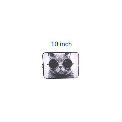 c1fe3412f3 Sacoche Pour Ordinateur Portable 9/10' Motif 'chat à Lunettes' Sacoche Pour.  «