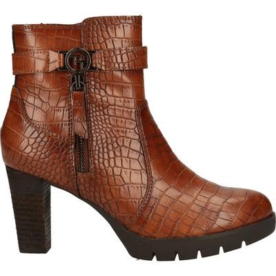 Tom Tailor Femmes Bottes Bottines Boots Hiver 379310300//5893103 Marron Nouveau